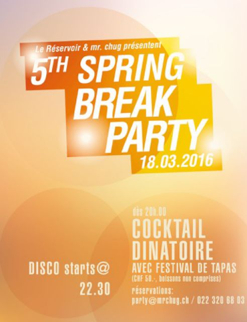 5th Spring break party